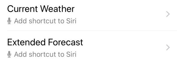 siri shortcuts apps
