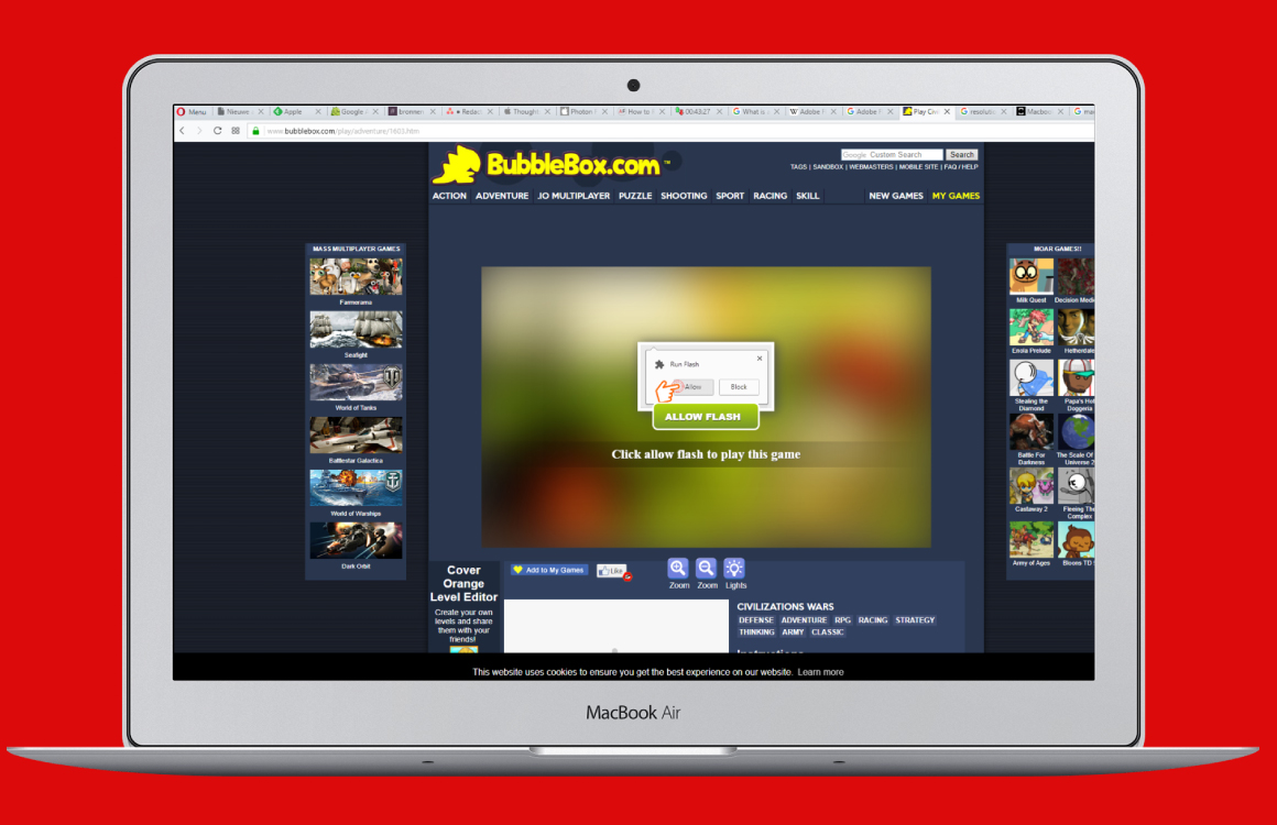 How to view flash based websites on an ipad: 13 steps.