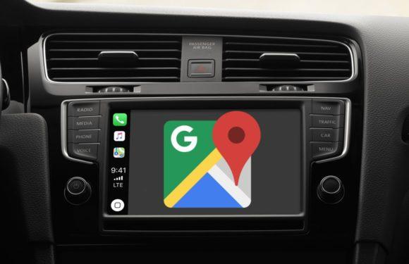 Eindelijk: Google Maps voor Apple CarPlay vanaf nu beschikbaar