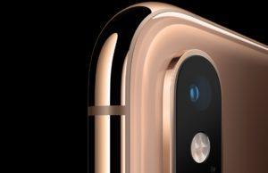 iPhone XS camerafunctie