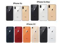 Overzicht: alle verwachte kleuren van de nieuwe iPhones op een rij
