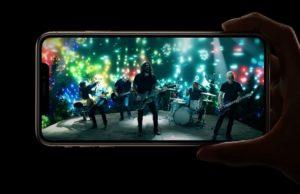iPhone XS max scherm