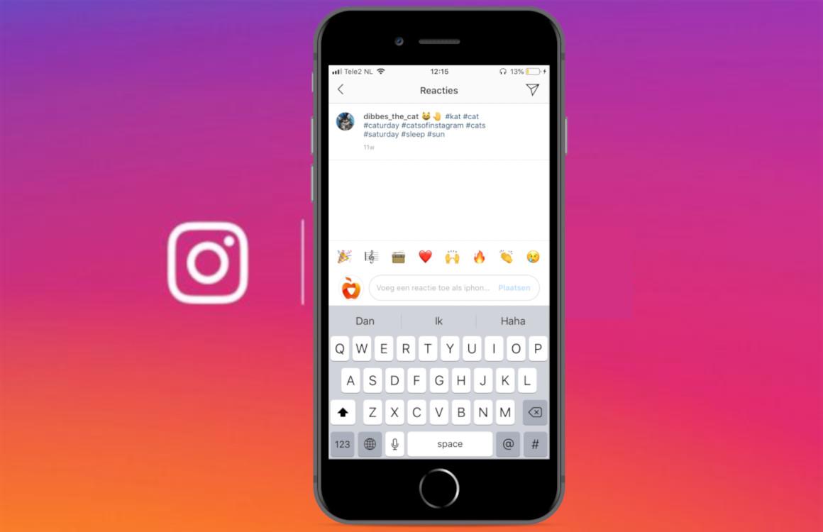 Tip: Met deze functie reageer je supersnel op Instagram