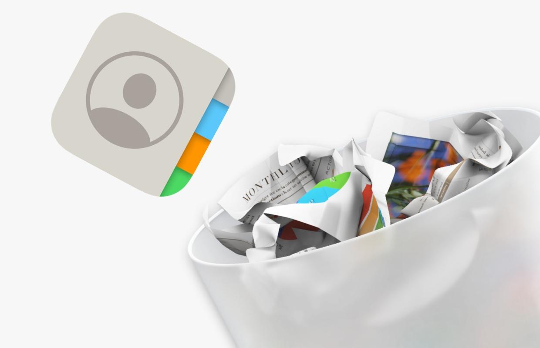 3 manieren om snel je iPhone-contacten op te schonen