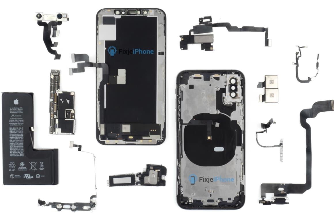 iPhone XS productiekosten