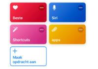 Deze 15 apps ondersteunen nu al Siri Shortcuts