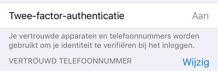 iphone beveiligingsopties