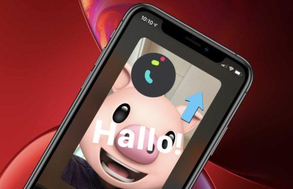 In FaceTime Animoji, Memoji en effecten gebruiken: zo doe je dat