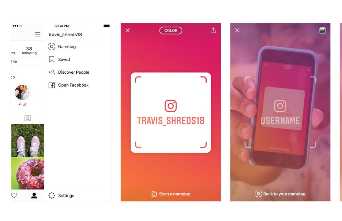 Instagram-naamplaatje-screen