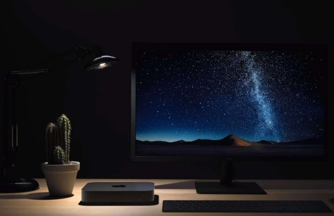 Mac mini bureau