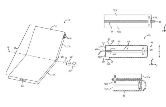 buigbare iPhone patent