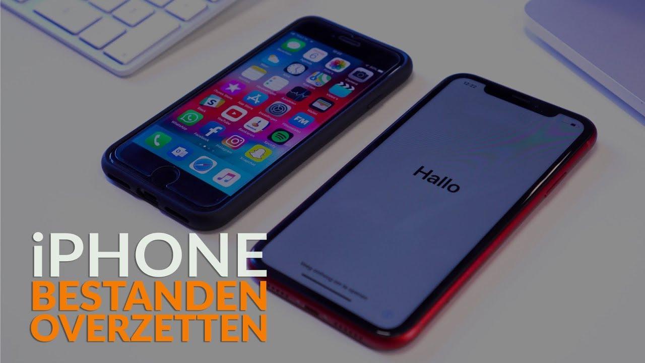 overzetten naar nieuwe iphone