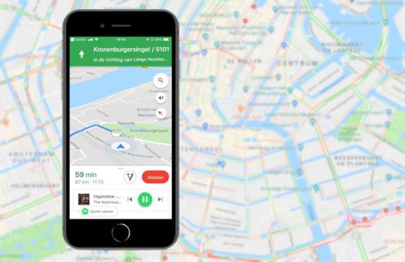 Zo activeer je in Google Maps muziekintegratie van Spotify of Apple Music