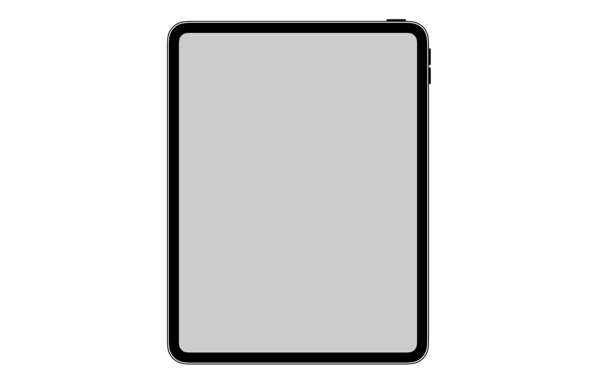 iPad Pro 2018 design gelekt