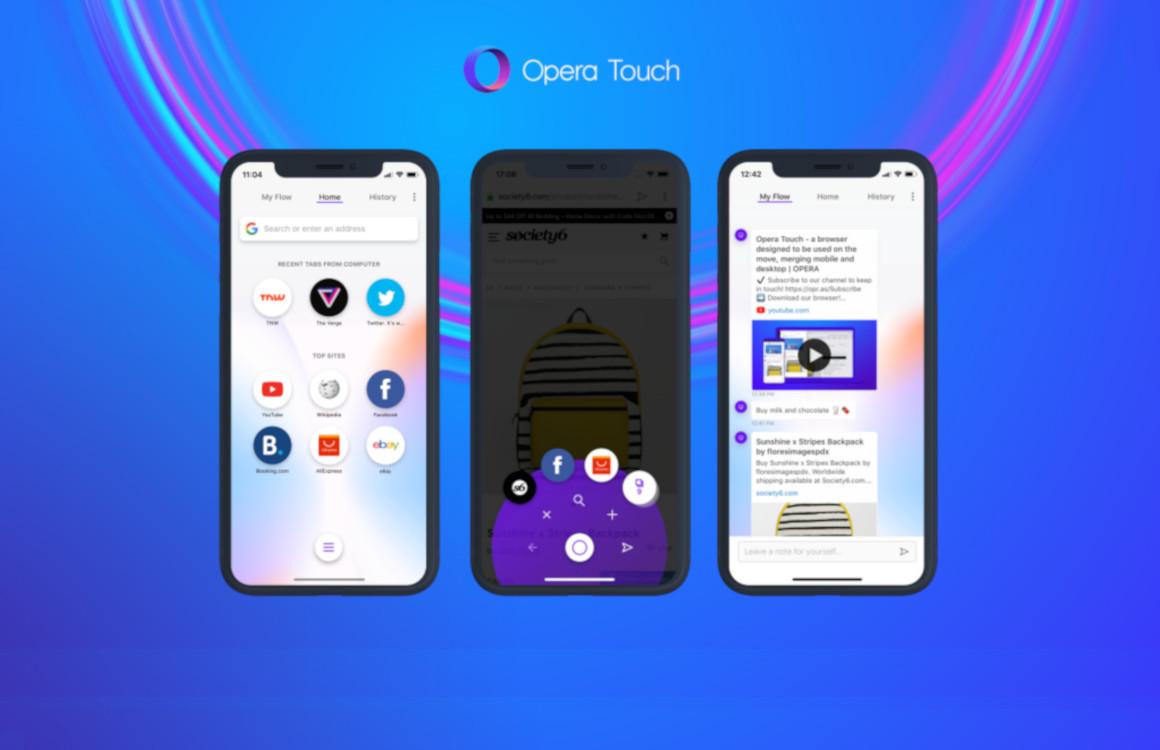 Opera Touch is het beste Safari-alternatief voor grote iPhones