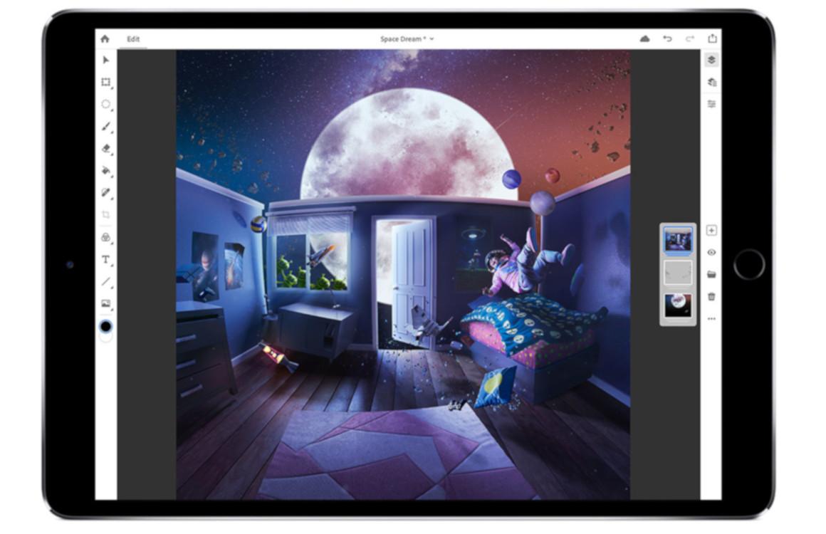 Photoshop op de iPad in 2019: zo gaat het werken