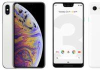 iPhone XS vs Google Pixel 3: toptoestellen van Google en Apple vergeleken