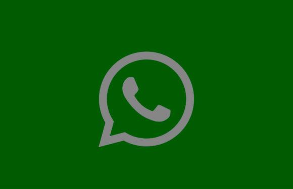 'Zo ziet de donkere modus van WhatsApp eruit'
