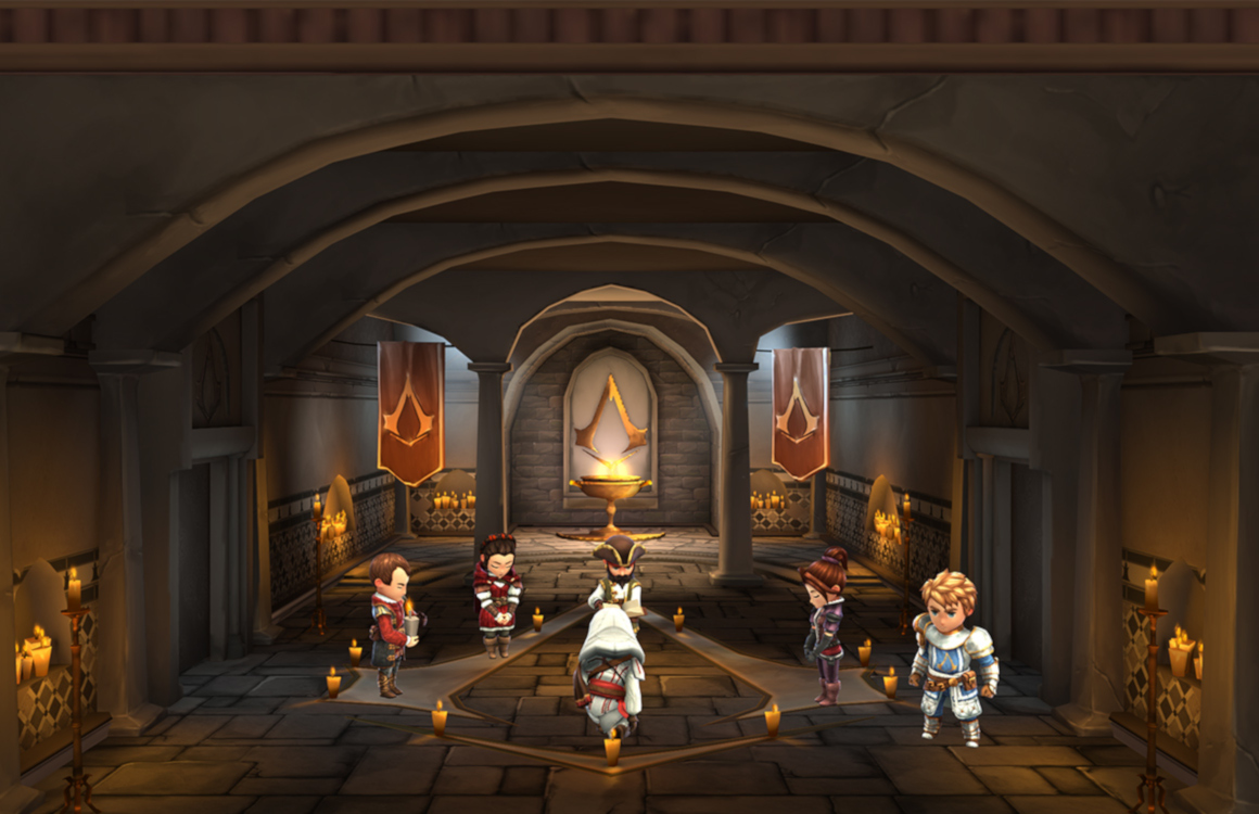 Vorm je eigen broederschap in Assassin's Creed Rebellion