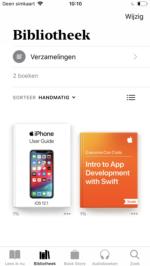 Donkere modus boeken-app iOS 12 (1)