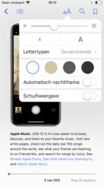 Donkere modus boeken-app iOS 12 (2)