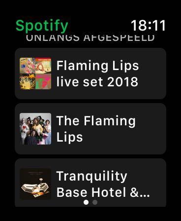 Spotify AppLE Watch App (3)