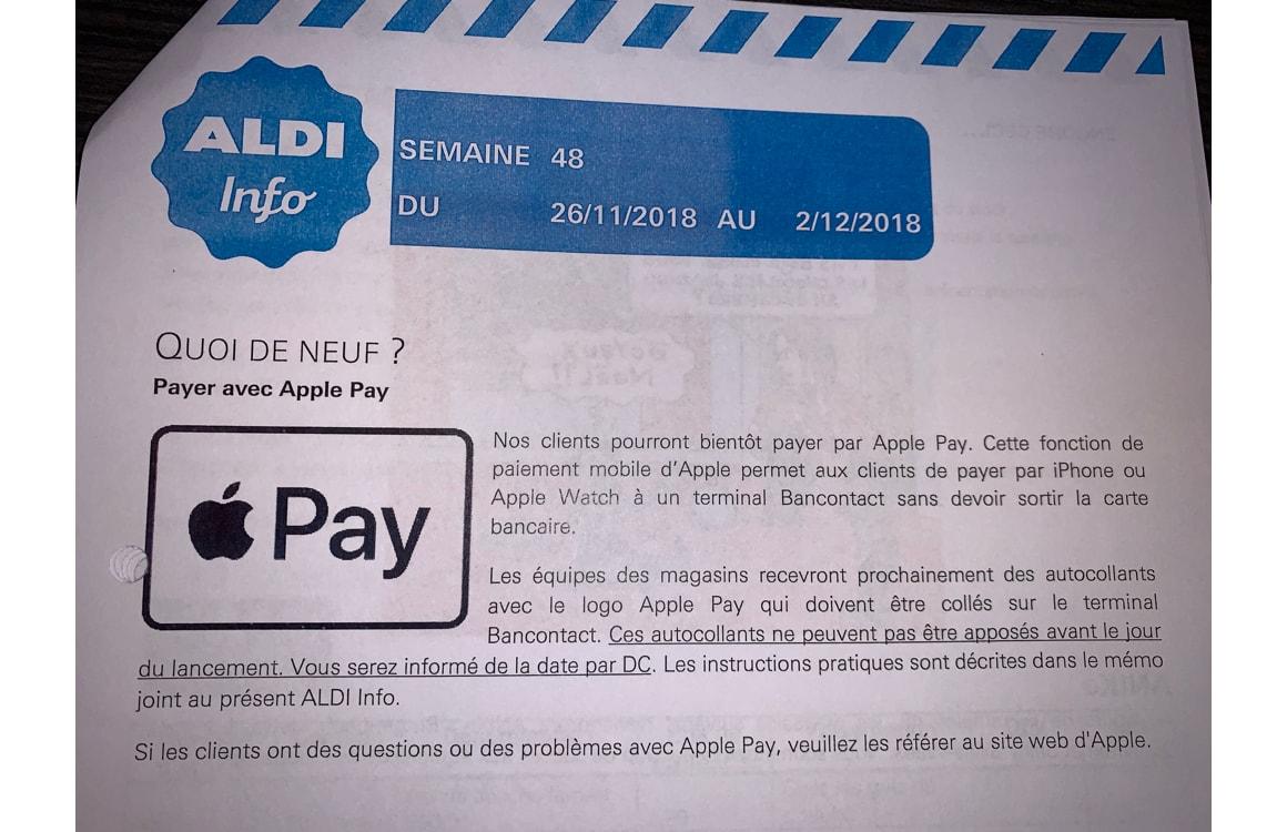 Apple Pay in België
