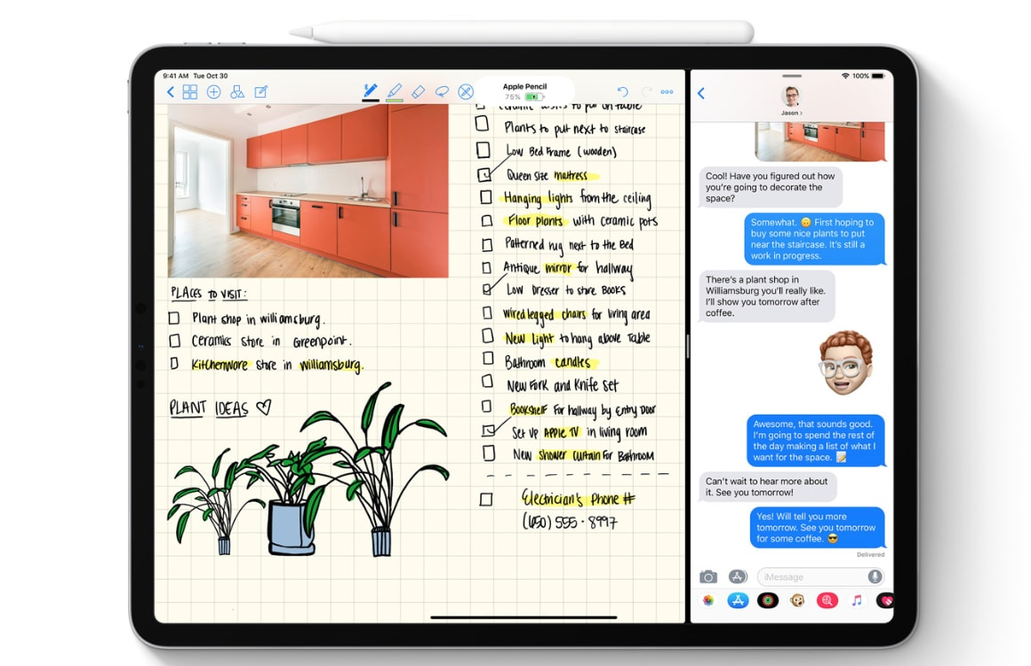 Apple Pencil 2 functies