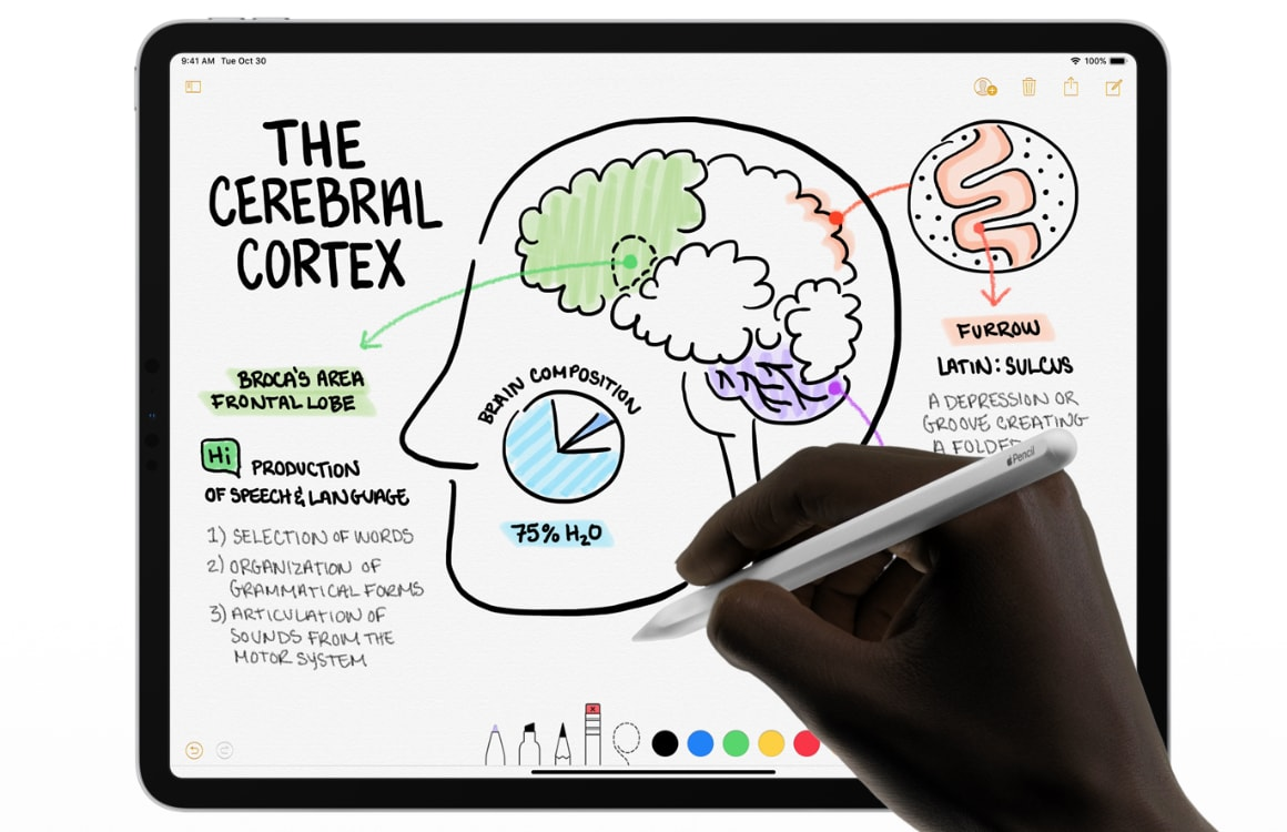 Patent: Zo gaat de Apple Pencil je helpen beter te tekenen