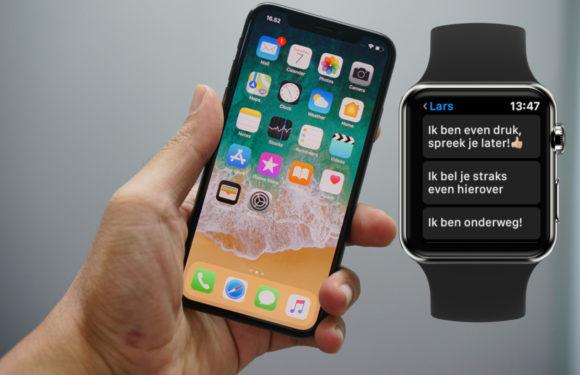 Tip: Apple Watch-standaardantwoorden aanpassen doe je zo
