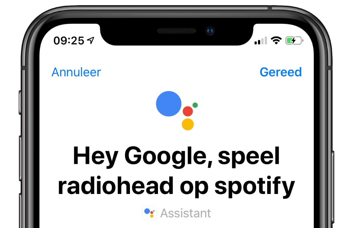 Google Assistent Siri Shortcuts