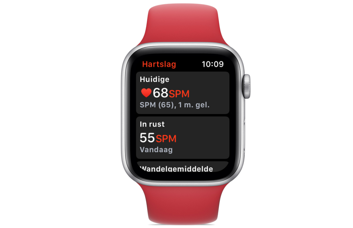 Apple Watch Series 4 hartslag