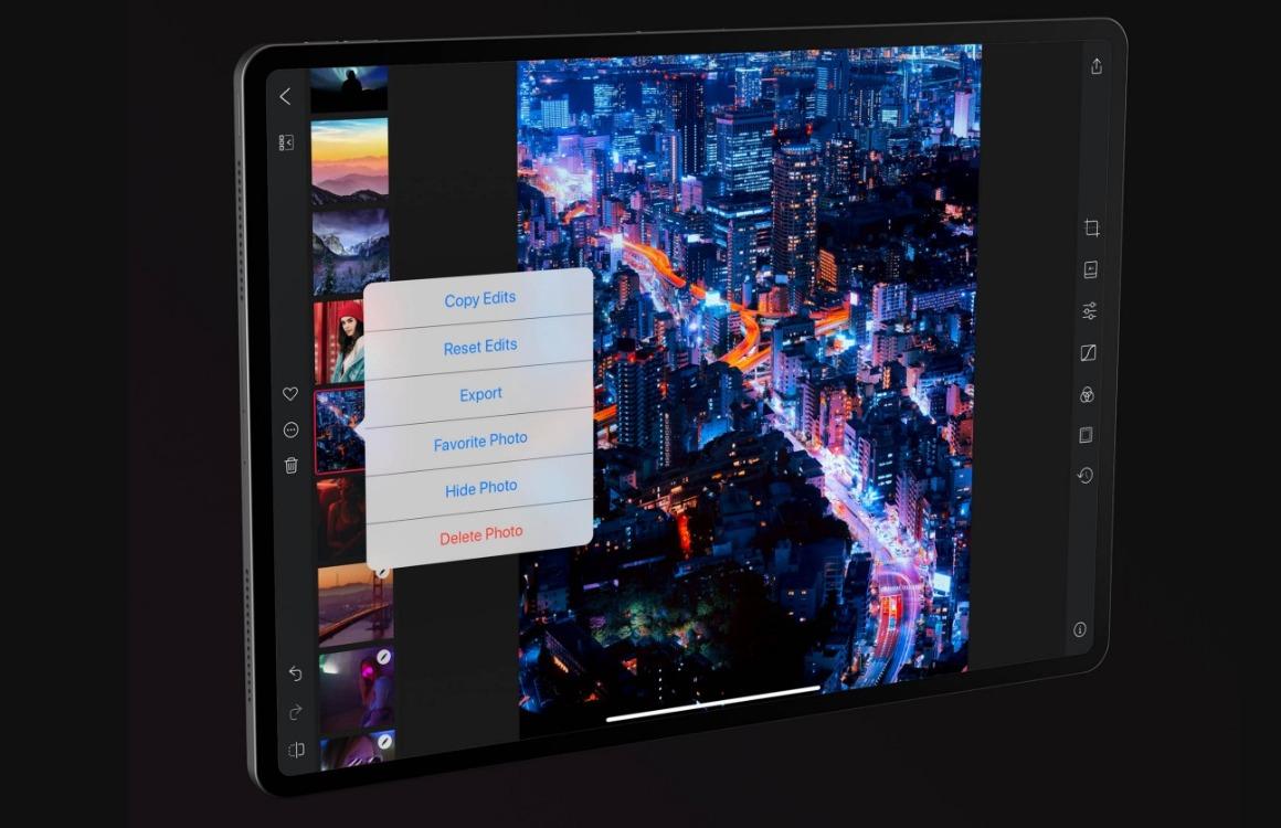 Darkroom iPad-versie (1)