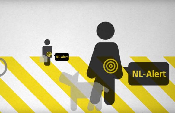 Maandag 3 december om 12:00 uur krijg je een NL Alert-controlebericht