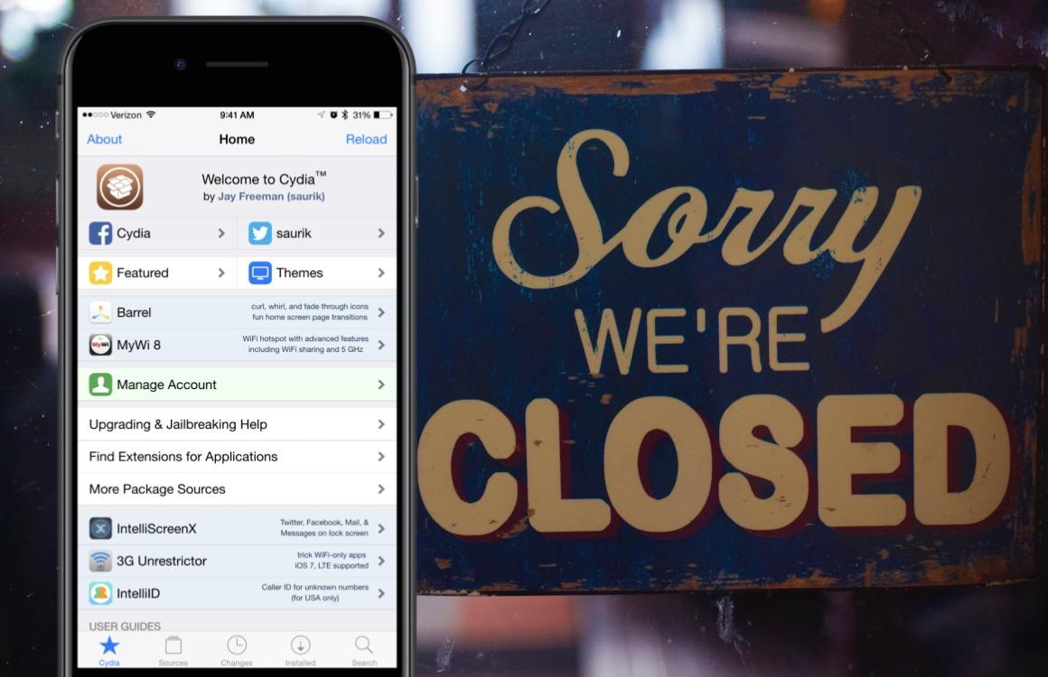 Opinie: Jailbreaken is officieel voorbij met het verdwijnen van Cydia