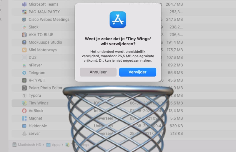 Een app verwijderen van je MacBook: op deze 4 manieren doe je het