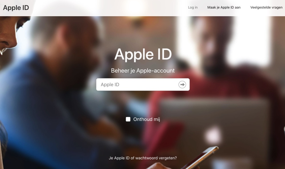 apple id tweestapsverificatie