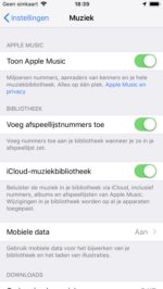 apple music afspeellijst liedje toevoegen zonder bibliotheek (2)