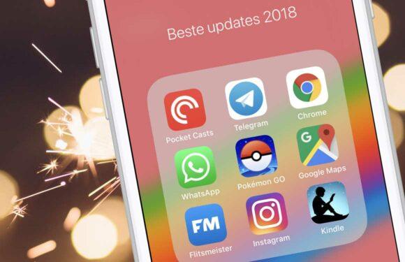 Deze 10 apps zijn er in 2018 het meest op vooruit gegaan