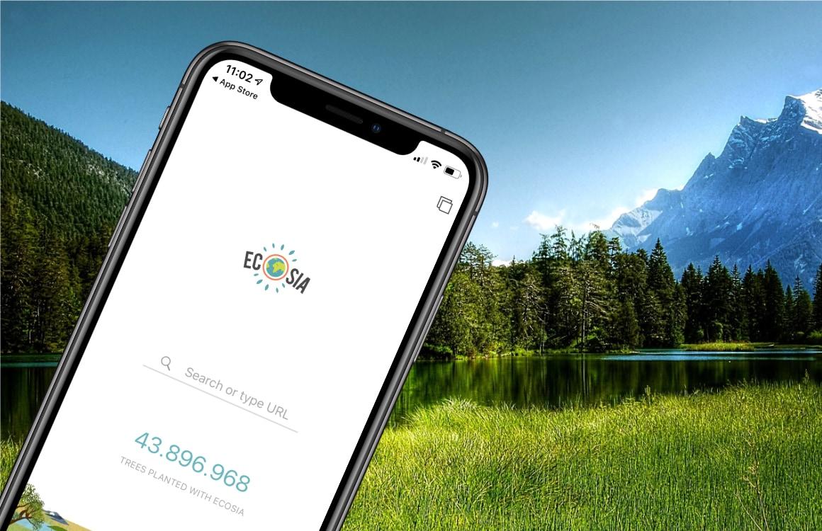 Ecosia: Dit groene Google-alternatief plant bomen als je op advertenties klikt