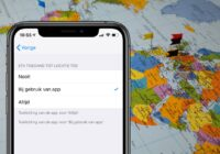iOS 13 laat op een kaartje zien waar apps je locatie bijhouden