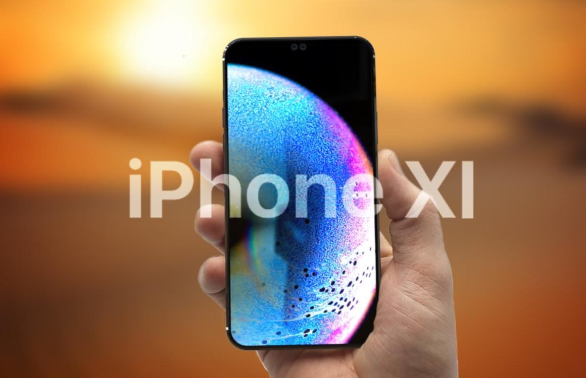 Conceptvideo van 2019 iPhone toont drie camera's en iPad Pro-design
