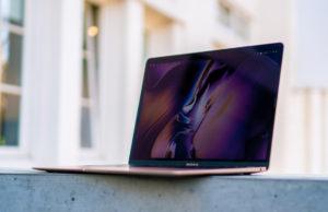 MacBook Air 2018 schermhelderheid