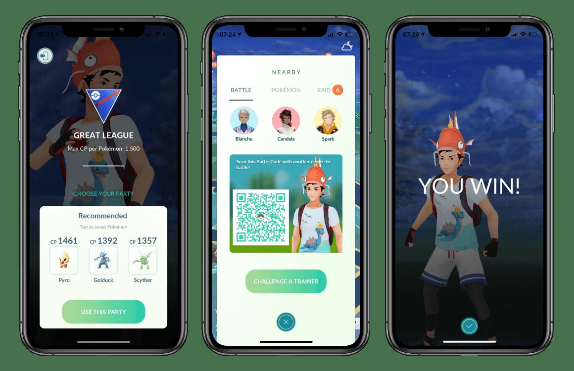 Pokémon GO multiplayer