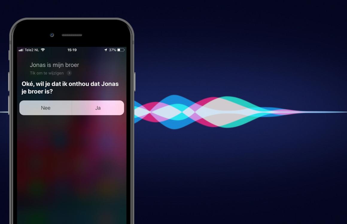 Tip: je naasten sneller bereiken door Siri-relatielabels toe te voegen