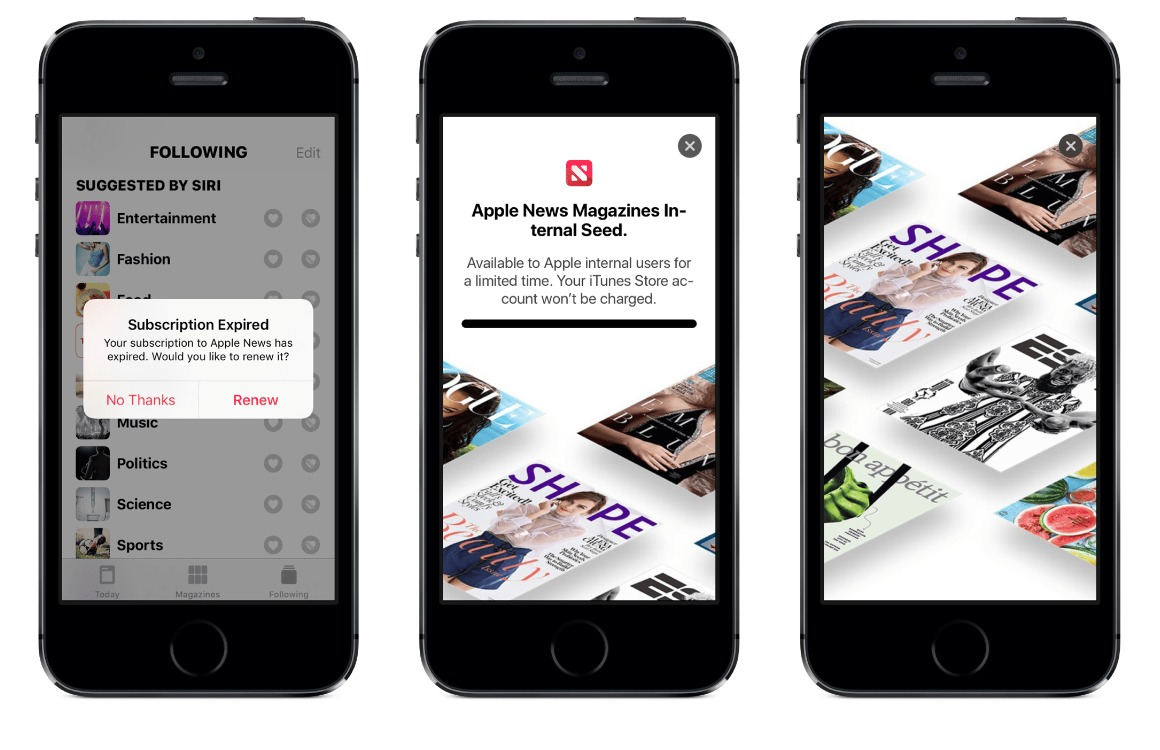 Apple NEws Magazines uitgelicht
