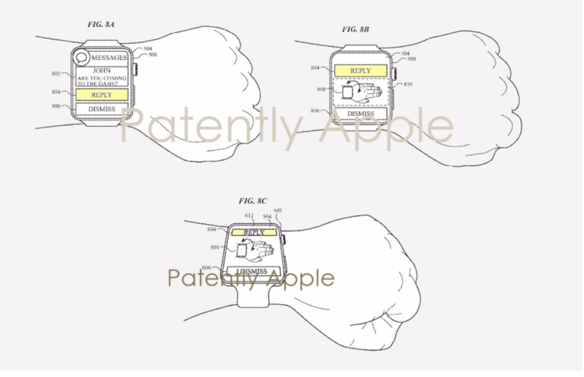 Apple Watch polsbewegingen