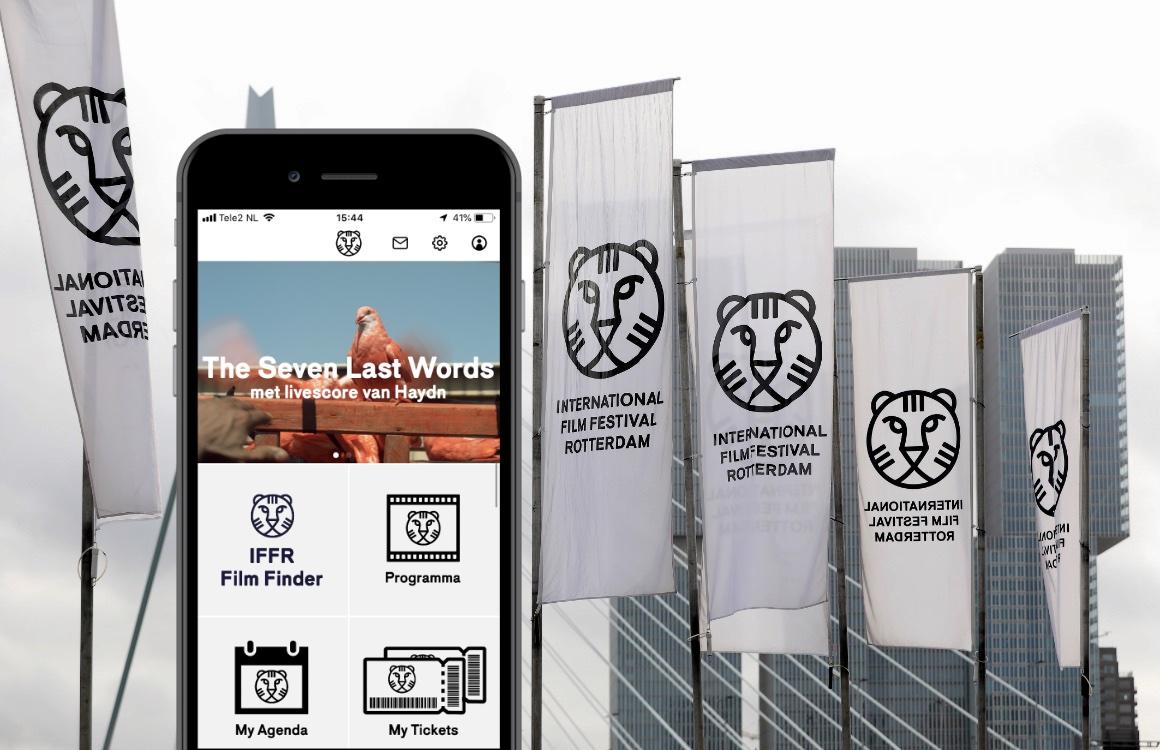 IFFR-app: verlies nooit een wit doek uit het oog op het Rotterdamse filmfestival