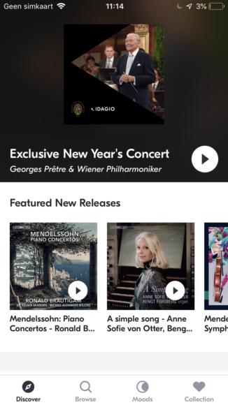 Idagio screenshots iPhoned (1)