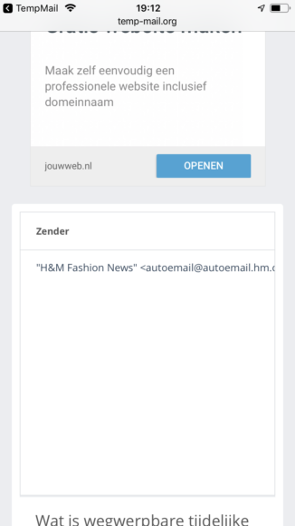 Temp Mail screenshot (2)